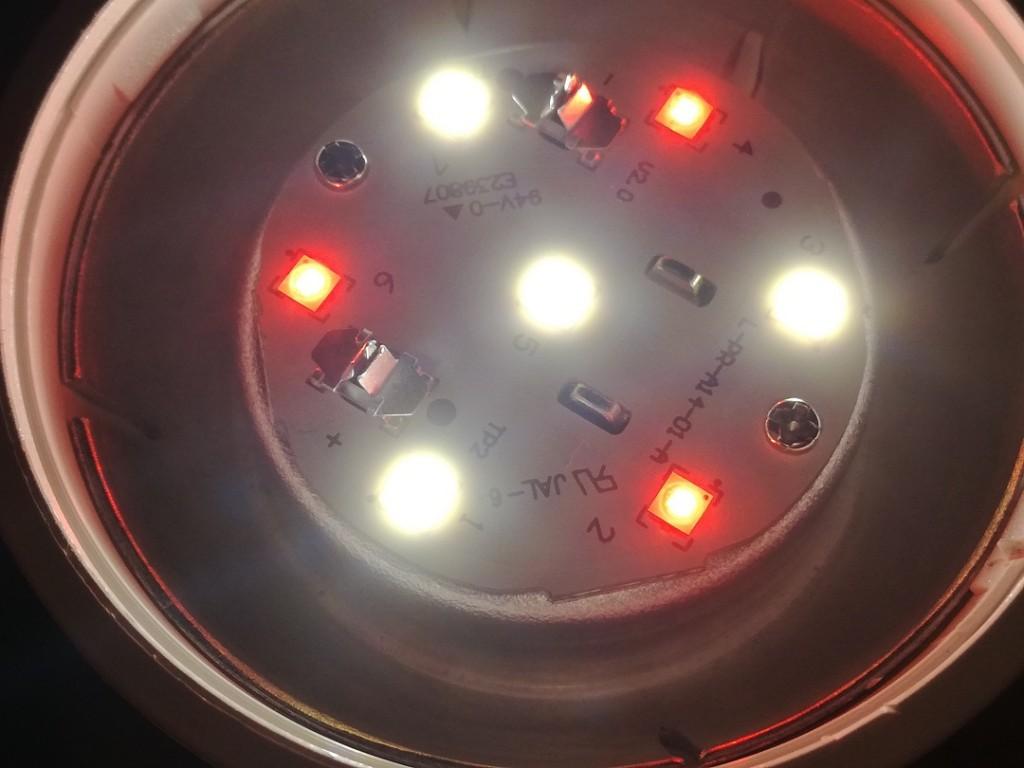LED Light on 2